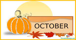 October Clipart   October clipart, Hello october, October