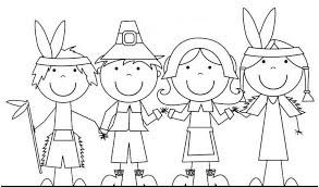 Small Picture pilgrims and native americans color 557931 Coloring Pages for