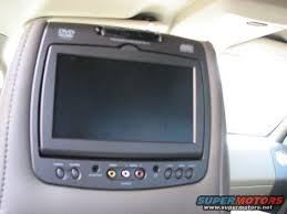 ford dvd players in headrests f150online forums Invision Dvd Headrest Wiring Diagram here is a comparison shot to give you an idea of the size of the screen invision dvd headrest wiring diagram