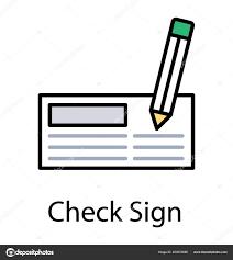 Paradigm Design Paradigm Design Cheque Being Checked Pencil Show Signed