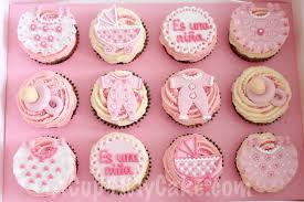 Baby Shower Cupcakes Its A Girl Es Una Niña Acup4mycake