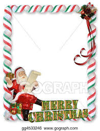 christmas santa borders and frames. Perfect Christmas Christmas Santa Border In Borders And Frames H