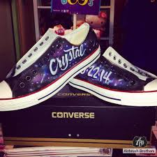 Galaxy Design Shoes Galaxy Design Airbrush Brothers