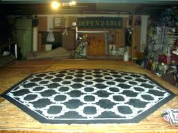 octagon shaped rugs flower area oddly blue starfish rug