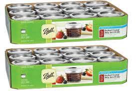 Amazon.com: Ball 4-Ounce Quilted Crystal Jelly Jars with Lids and ... & Amazon.com: Ball 4-Ounce Quilted Crystal Jelly Jars with Lids and Bands,  Set of 12 - 2 Pack (Total 24 Jars): Kitchen & Dining Adamdwight.com