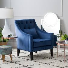 Tufted Accent Chairs  HayneedleNavy Blue Living Room Chair