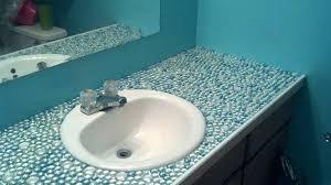 tile bathroom countertops over laminate quartz slabs