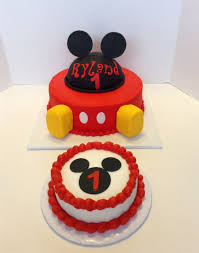 Mickey Mouse First Birthday Cakecentralcom