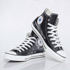 converse all star leather hi 9 close