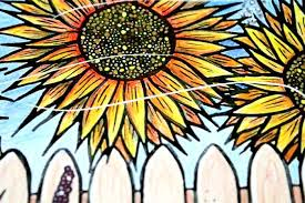 Charming Picture Of A Sunflower To Color S7122 Nice Sunflower