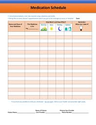 Medication Schedule Chart 026 Schedule Daily Medication Template Awful Ideas Calendar