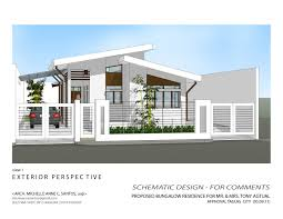 small modern house plans flat roof beautiful modern house design with floor plan in the philippines