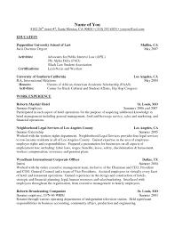 Resume Activities Format Therpgmovie