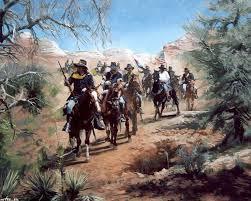 cowboy art military art western art wild west art tutorials civil wars cherokee troops cowboys