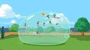 Image  SBTY Empty Backyard 2jpg  Phineas And Ferb Wiki  FANDOM Phineas And Ferb Backyard Beach Song