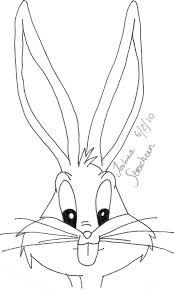 Bug bunny drawing
