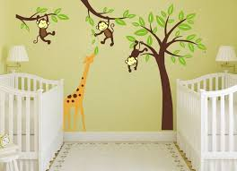 magnificent baby nursery wall ideas model wall art design  on safari themed nursery wall art with famous wall art for nursery ideas motif wall art collections
