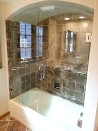 shower doors for bathtub s installing glass shower doors tub