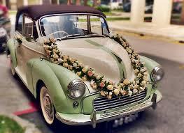 wedding car decoration singapore