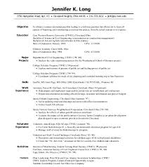 Resume For Internships Template Sample Internship Resume Examples Of Resumes For Position