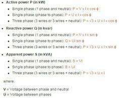 comparison between old & new cable colour codes electrical Power Formula For 3 Phase formules · electrical engineeringpower formulablog power formula for 3 phase