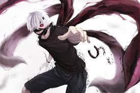 tokyo ghoul kaneki ken white hair