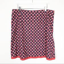 Boden Tulip Print A Line Skirt Size Uk 20 Us 16 18