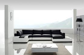 modern black and white furniture. perfect modern sectional couch white and black leather to decorating furniture