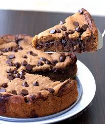 chocolate chip pie. Delighful Chip Makeout Chocolate Chip Cookie Pie  On Pie