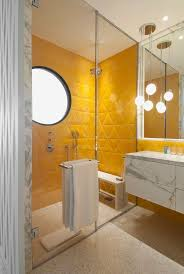 full size of bathroom best yellow subway tile bathroom with with marble mosaic floor and