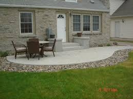 concrete slab patio. Beautiful Concrete Slab Patio Ideas 1000 About Patios On Pinterest Stamped
