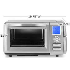 Microwave ovens use radio waves to defrost or reheat the cooked food. Cuisinart Combo Steam And Convection Toaster Oven Williams Sonoma