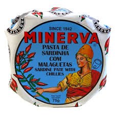 Minerva Sardine Pate with Chillies   Portugalia Marketplace