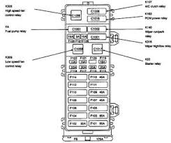 solved diagram of fuse box 2000 ford taurus inside car fixya 2005 ford taurus fuse box i'm pretty sure this is it
