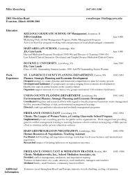 Mba Resume Samples Resume For Study