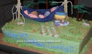 Coolest Old Man Retirement Cake