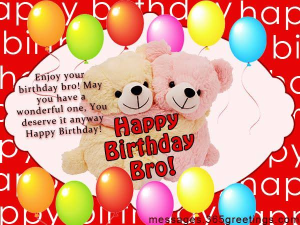 birthday wishes for brothe