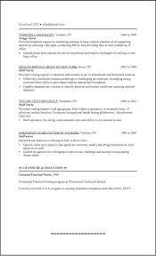Lpn Resume Examples Pelosleclaire Com