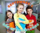 Сценарий на английском языке к 1 сентября