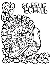 Thanksgiving Coloring Pages Longesinfo