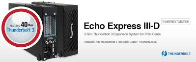 Owc Pcie Thunderbolt Card Compatibility Chart Echo Express Iii D Thunderbolt 3 Edition Pc Ie Card