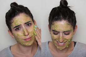 diy face hair mask