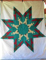 64 best Star Quilts images on Pinterest | Quilt block patterns ... & Native American LAKOTA Indian STAR Quilt by AntiqueQuiltRevival, $225.00 Adamdwight.com