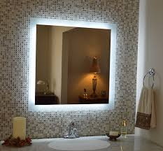 Hotel Bathroom Lighted Mirror Holiday Inn Led Backlit Mirror Led Bathroom Mirror