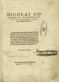 Новое время Википедия Первая страница книги Коперника Об обращениях небесных сфер
