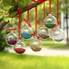 Clear Glass Balls Decorative Dia60cm Clear Glass Balls Christmas Ornaments Pendants with shiny 1