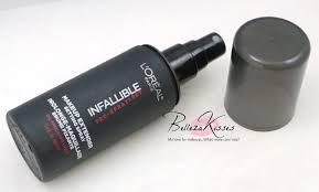 loreal pro spray set makeup extender setting spray 5