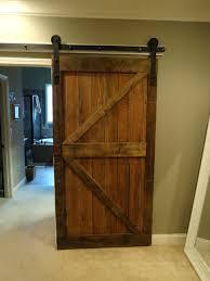 sliding barn door interior home decor doors rustic