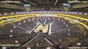 T Mobile Seating Chart Basketball New T Mobile Arena Mgm Aeg View From Section 103 Row M