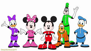 Small Picture Mickey Mouse Clubhouse Space Adventure Coloring Pages For Kids